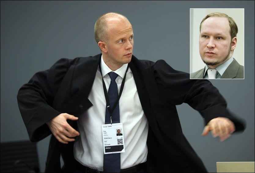 55bf0225 OSLO TINGHUS (VG Nett) Breiviks omstridte Liberia-tur i 2002 førte til høy  temperatur mellom aktor Svein Holden og…
