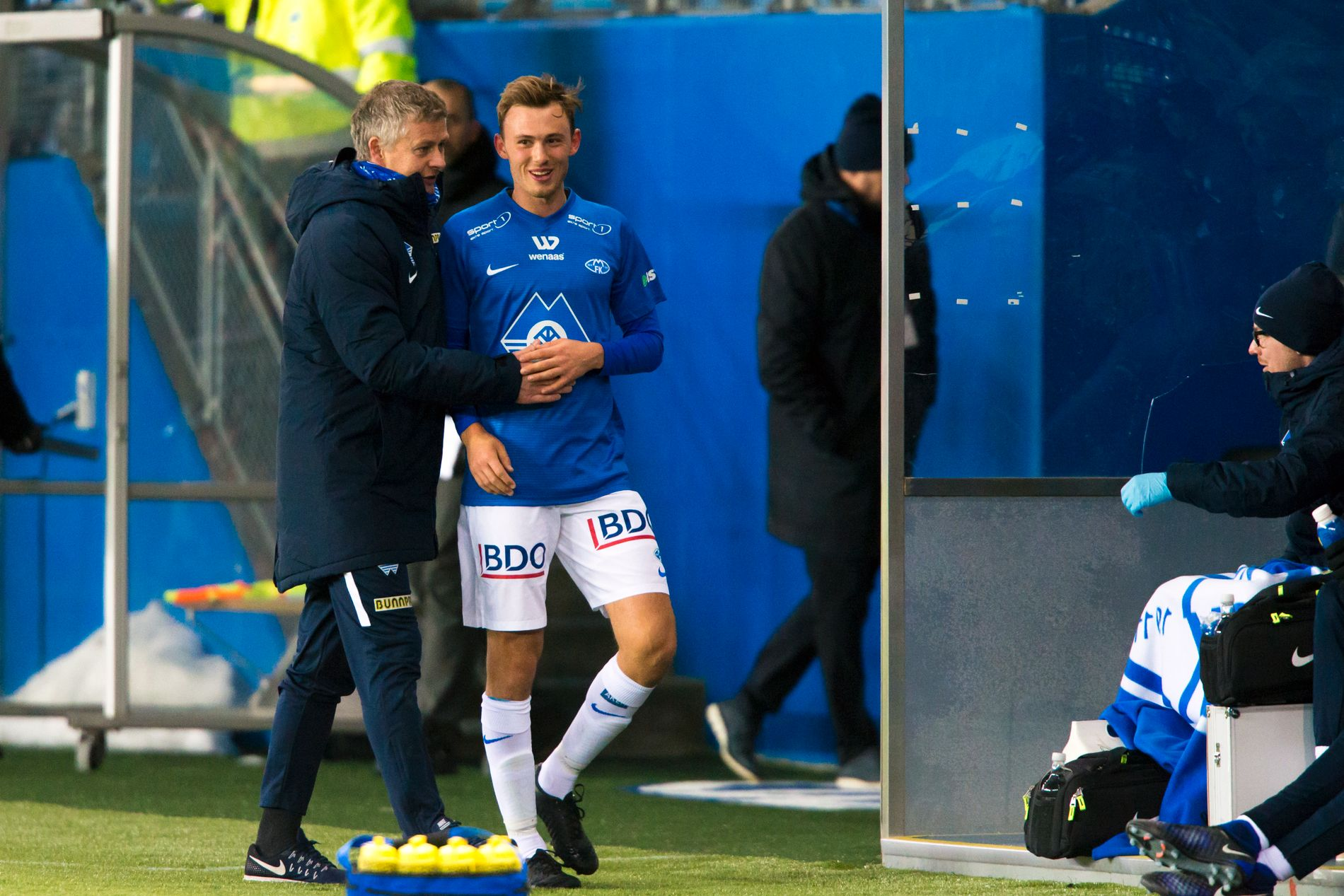 TAP: Fredrik Aursnes misset straffe i Moldes bortetap i Nord Irland.