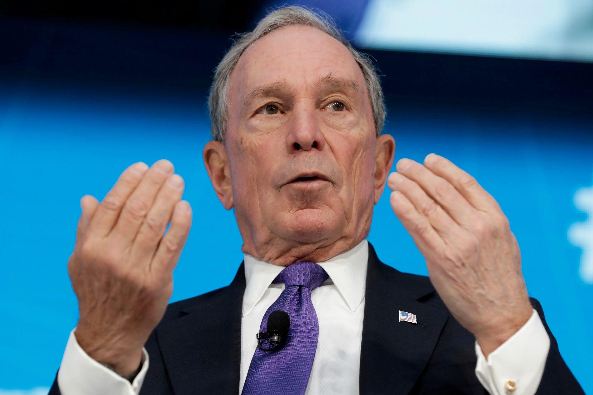STEINRIK: Mogulen Bloomberg kan bli et av navnene som stiller i primærvalget