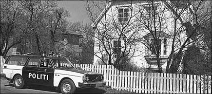 DREPT I 1978: I dette huset ble Inger Johanne Apenes funnet drept. Drapssaken har aldri blitt oppklart - før en person nylig tilstod drapet. Foto: Terje Jansson
