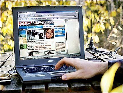 Det tre dager lange IT-toppmøtet i Tunisia startet ondag. Foto: VG