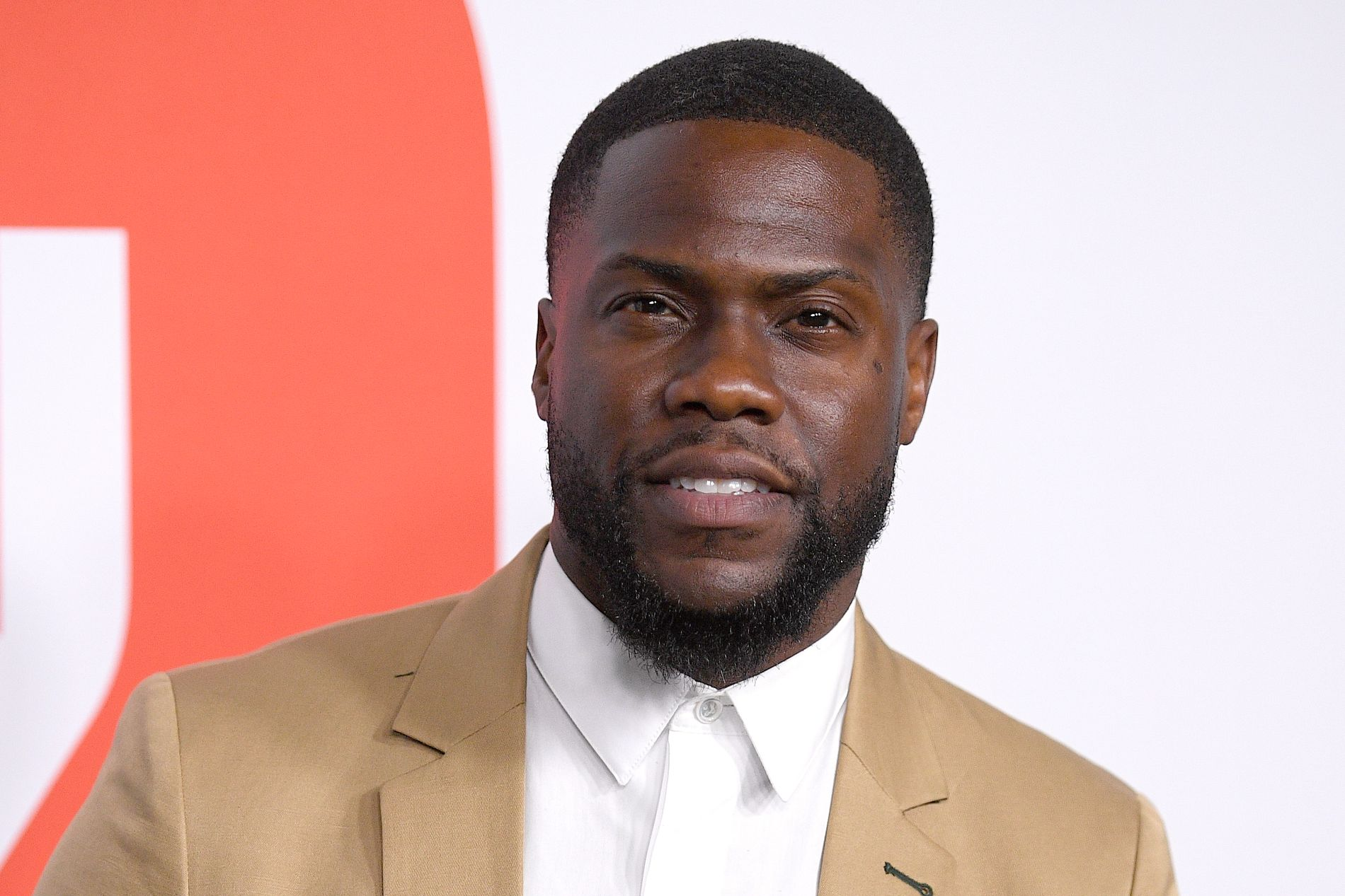 ACCIDENTED IN ACCIDENT: Comedian Kevin Hart had a serious car breakdown by Sunday. Here during the Sydney Film Festival in June.