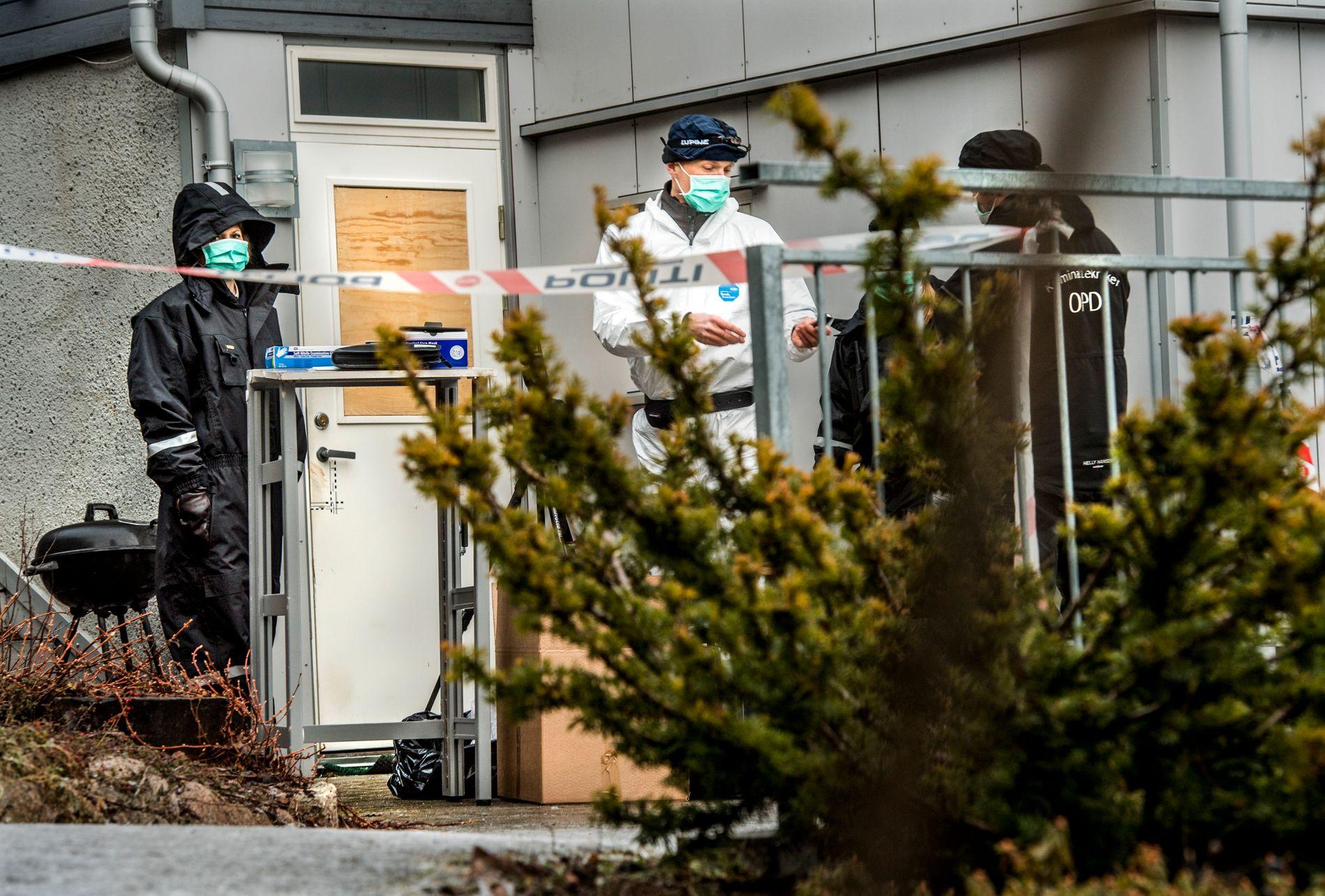 ÅSTED: På denne hybelen i Asker ble den 31 år gamle norskiraner funnet død 22. januar i fjor.