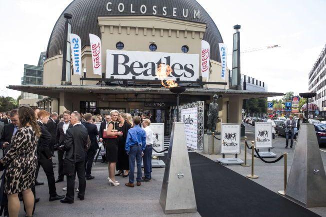 NYE TIDER: Aldersgrensene for barn blir nå forandret. Her fra premieren på filmen Beatles på Colosseum kino i Oslo i august.