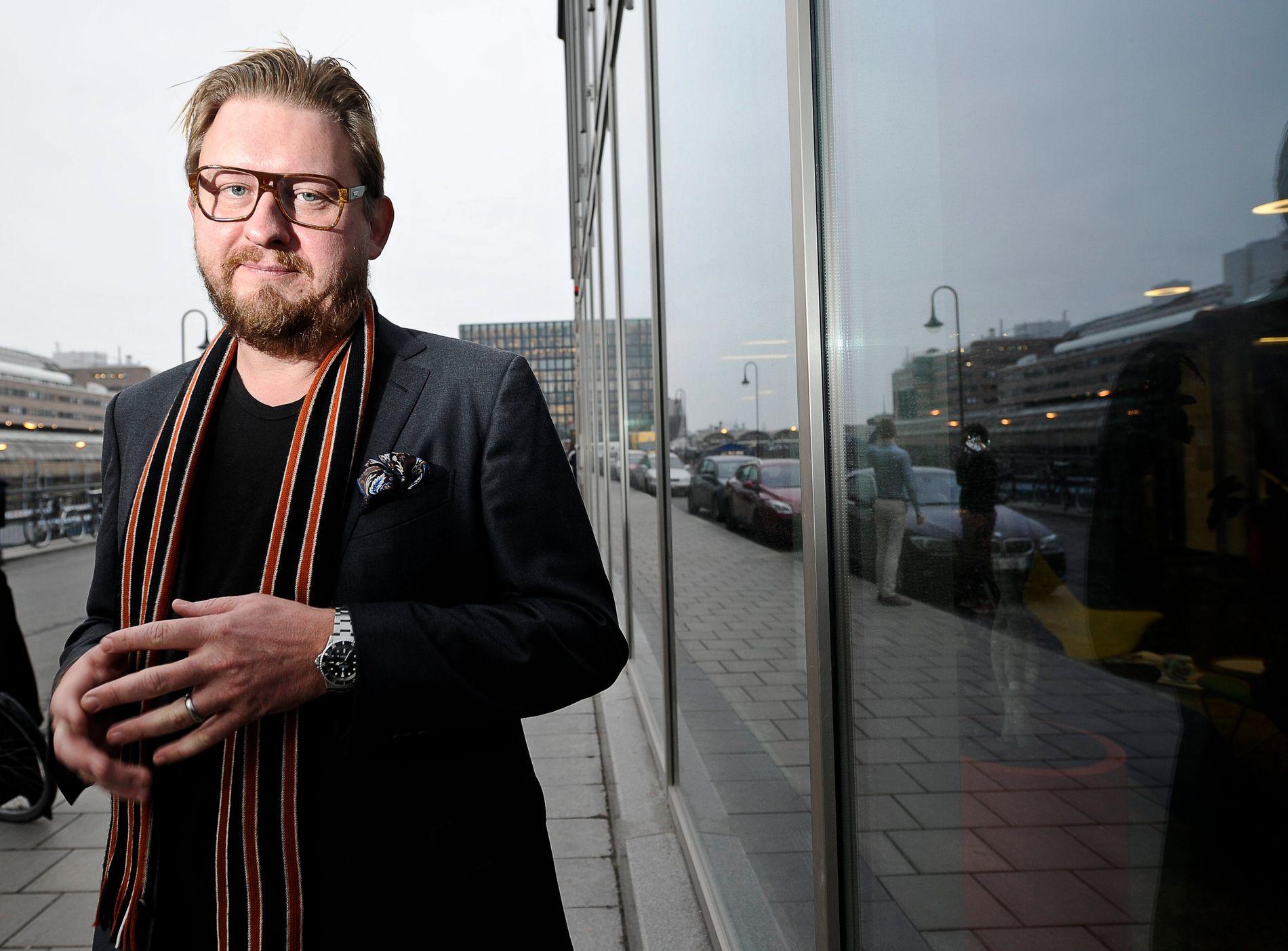 PAUSE FRA JOBBEN: Den svenske Aftonbladet-journalisten tar en pause fra jobben etter anklagelser om seksuell trakassering og overgrep.
