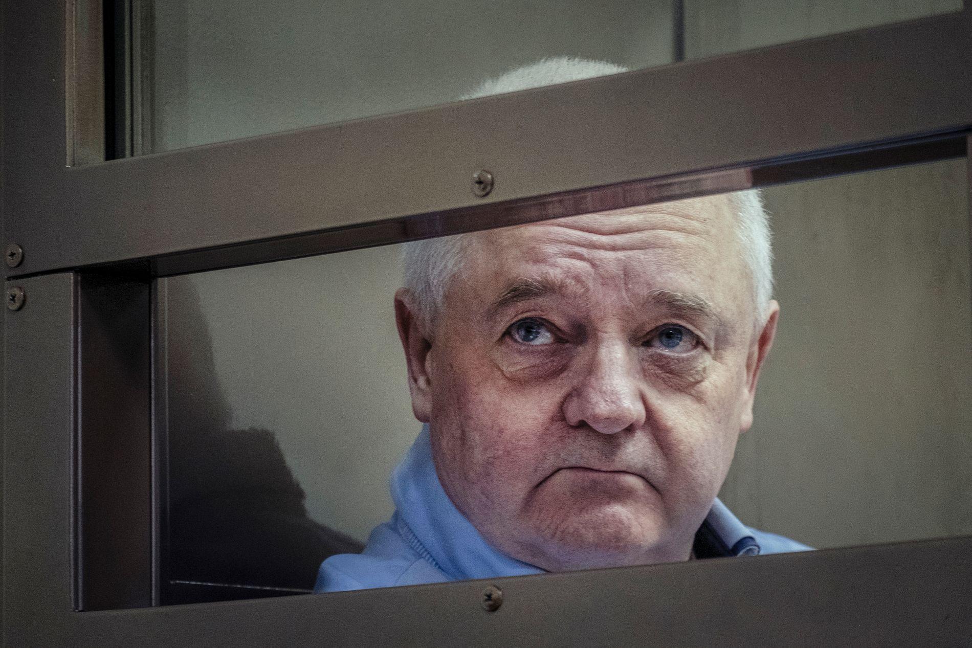 TILTALT: Rettssaken mot Frode Berg starter i Moskva i dag. Bildet er fra en tidligere fremstilling i retten.