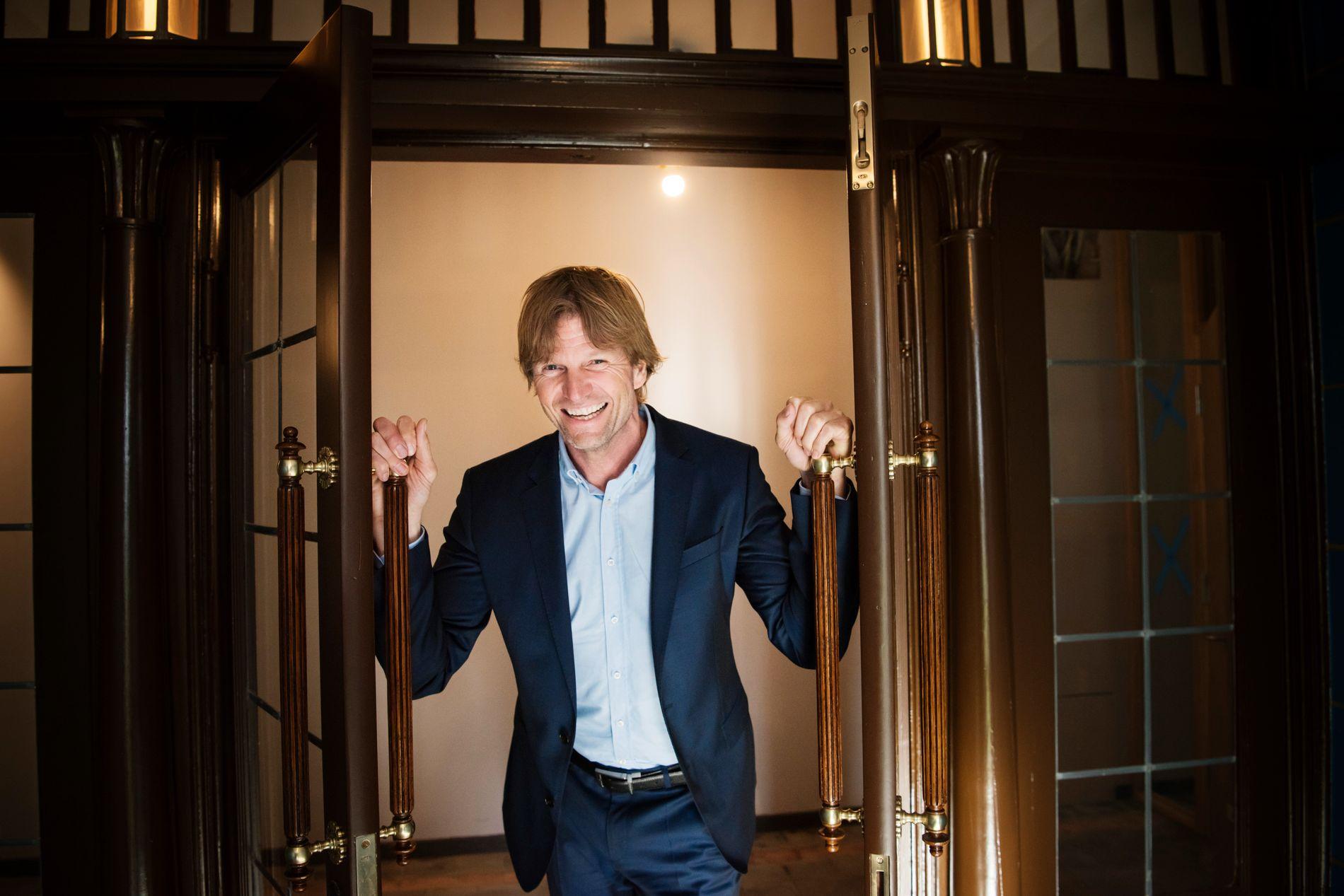 BIEBER I HUS: Forretningsmann og tidligere volleyballproff Bjørn Maaseide skal ha lånt ut huset sitt til Justin Bieber.