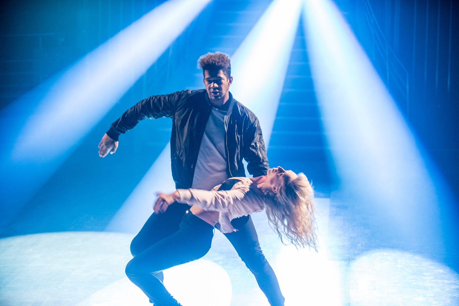 UNDERHOLDNING TAPER: Stadig færre ser underholdningsprogrammer, her representert ved «Skal vi danse» – finalen i 2016 og finalistene Markus Baily, Raylee og Eilev Bjerkerud, via lineær-TV.