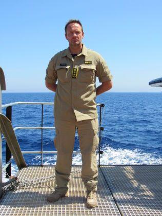 I MIDDELHAVET: Styrkesjef Tore Barstad. Han og resten av mannskapet på «Siem Pilot» er på plass til månedskiftet. Da kommer det et nytt mannskap. Tre ulike mannskap vil rullere frem til oppdraget er over i november.