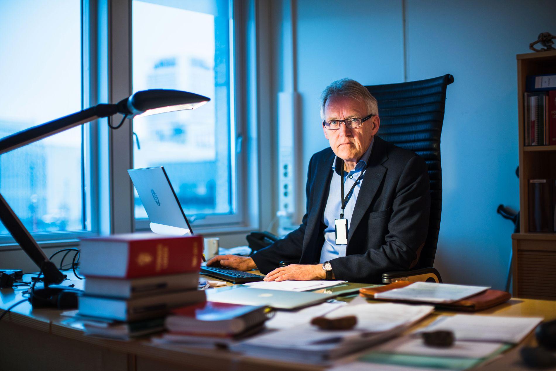 ET TUNGT ANSVAR: Statsadvokat Geir Fornebo henla Tanjas sak. Avgjørelsen ble påklaget til Riksadvokaten, som tok ut tiltale.