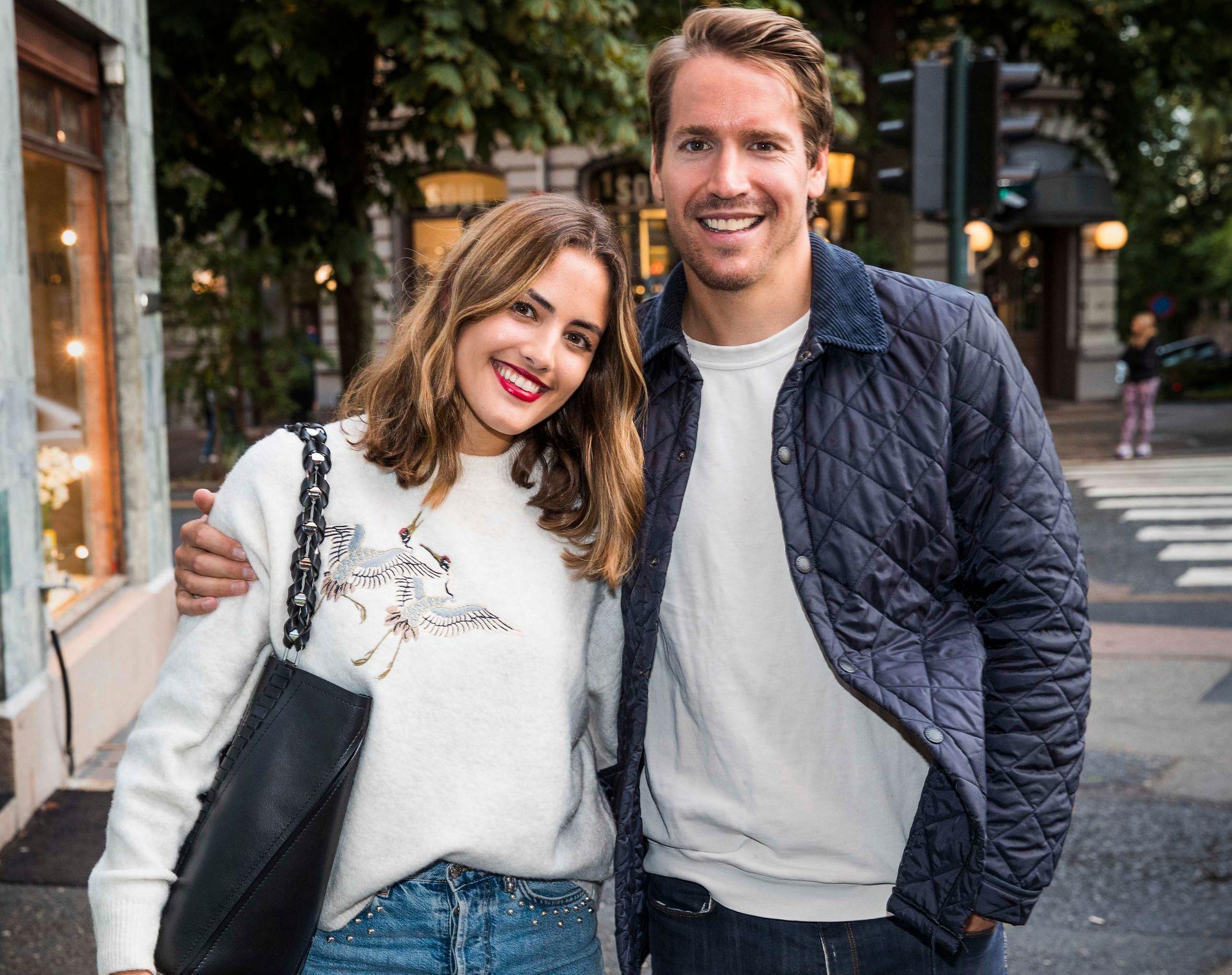 BORT MED VINTERTØYET: Emil Hegle Svendsen og kjæresten Samantha Skogrand drar til Karibia i dag. Deretter blir det litt ferie i USA på paret.