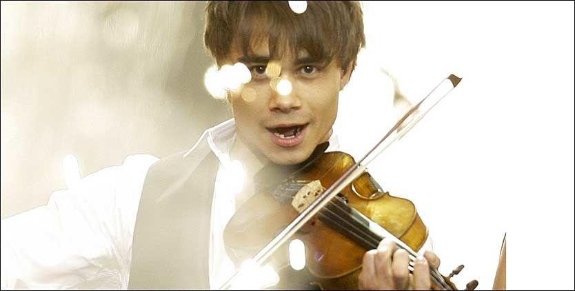 SPILLER TIL SEIER: Alexander Rybak vant Melodi Grand Prix 2009. Foto: AP