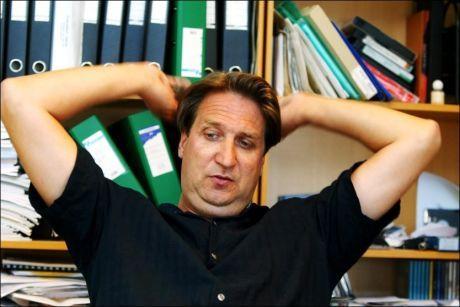 BISATT: Per Eirik Johansen, er på et bilde fra 2002. Foto: TERJE BRINGEDAL/VG