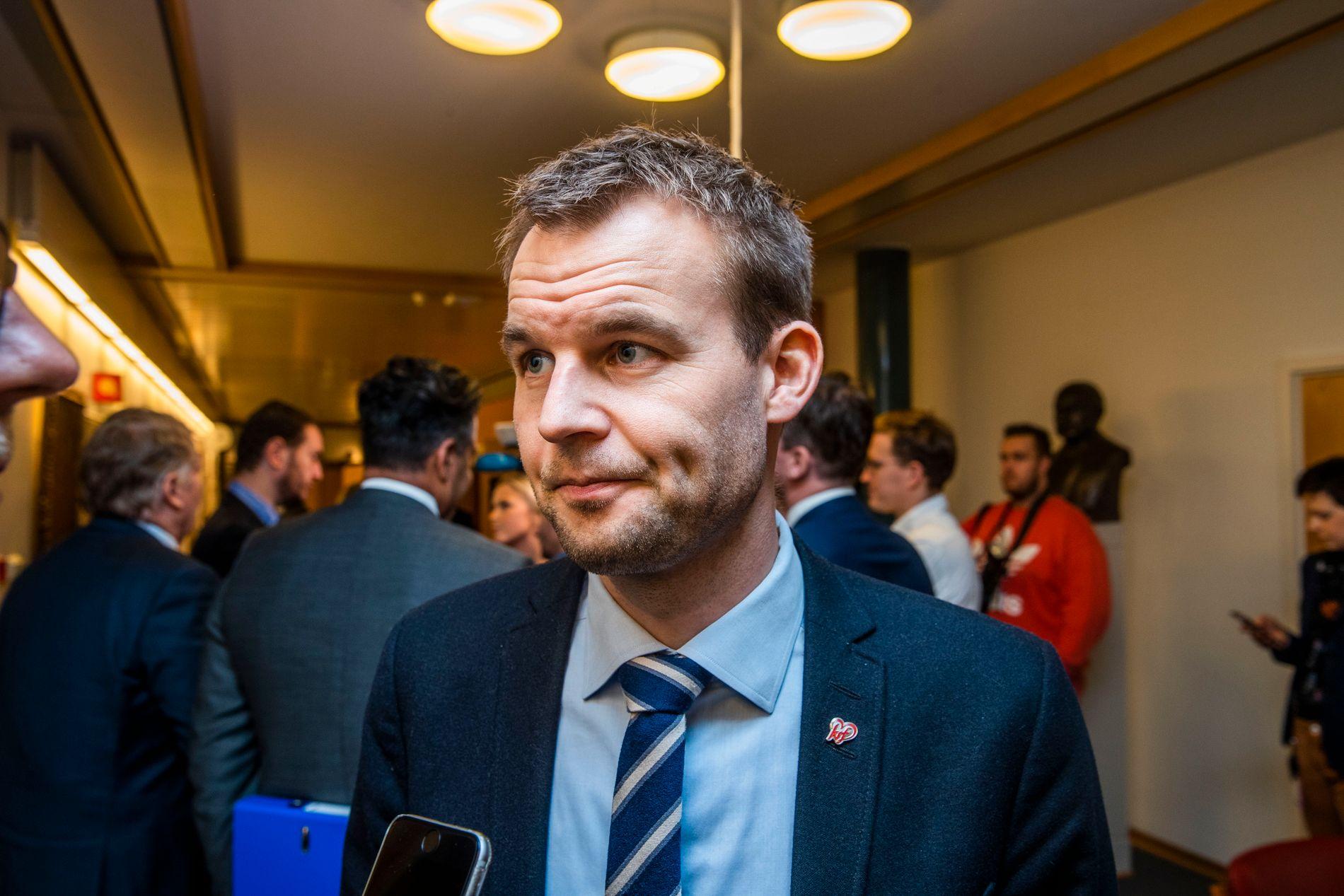 STATSRÅD: Barne- og familieminister Kjell Ingolf Ropstad.