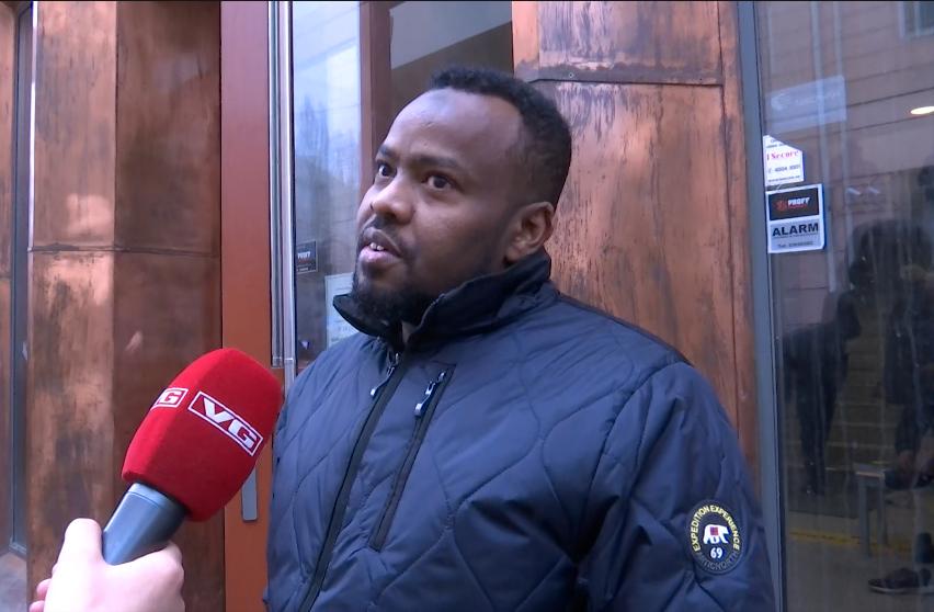 FØLER SEG TRYGG: Abdi opplever at politiet ivaretar sikkerheten til norske muslimer.