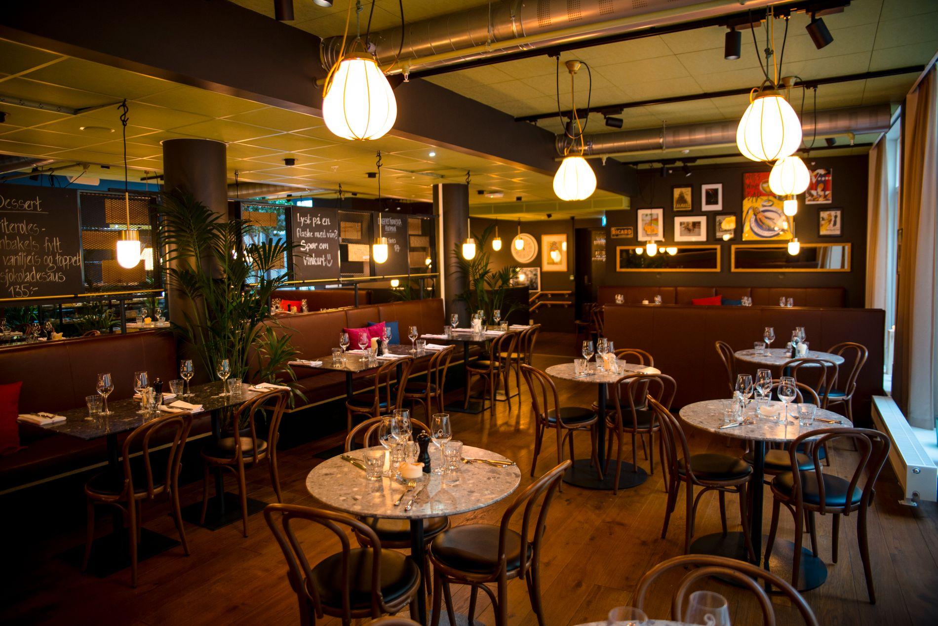 OPPLEVELSES-HOTELL: På Comfort-hotellet på Karl Johan finner du blant annet en restaurant, ginbar og musikkstudio.