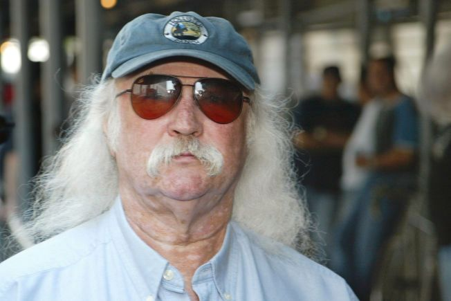 INGEN HIP HOP-FAN: David Crosby. Foto: AP