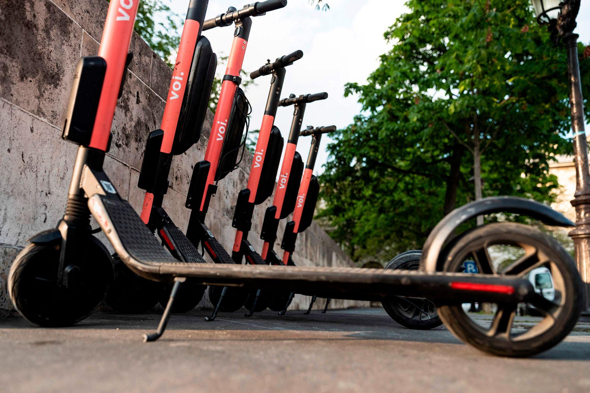 FLERE ULYKKER: Det er blitt flere elsparkesykkel-aktører i Oslo, og antallet ulykker øker.