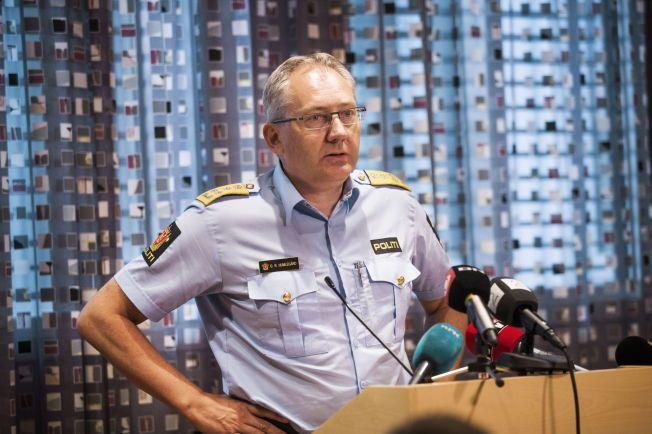 TELTE OPP: Politidirektør Odd Reidar Humlegård finner at signalene fra regjeringen er oppfylt i politiets arbeid med uttransport av barn med avslag på asylsøknaden.