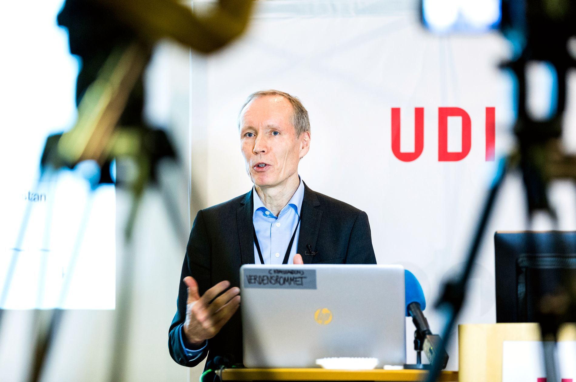 OPPDATERE SEG: UDI-direktør Frode Forfang sier UDI vil prioritere å hente inn oppdatert informasjon fra andre europeiske land, om hvordan de behandler asylsøknadene fra denne gruppen, for å forsikre seg om at Norge behandler sakene på en korrekt måte.