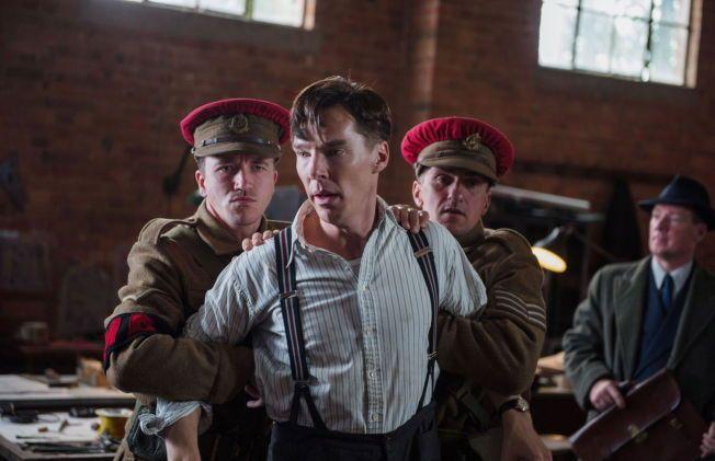 STERK KANDIDAT: Benedict Comberbatch i «The Imitation Game» regissert av Morten Tyldum.