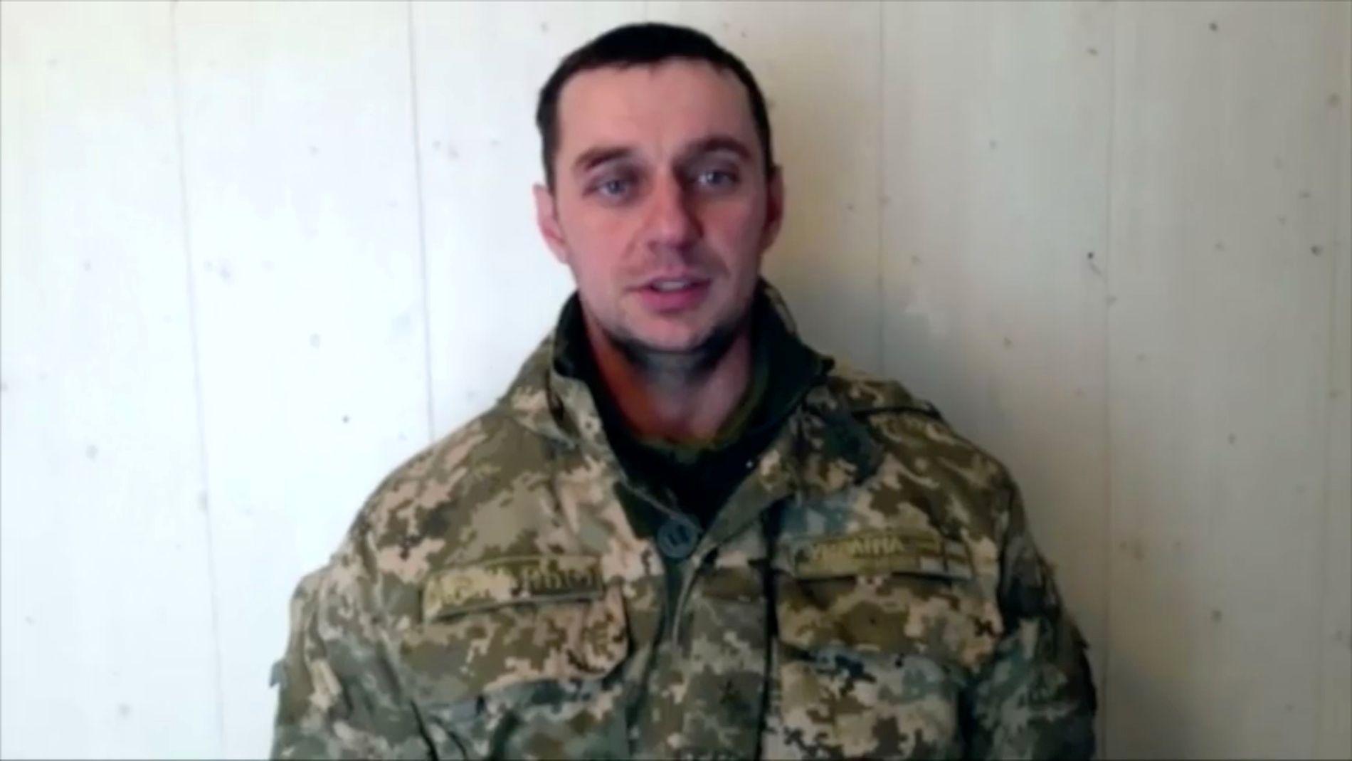 FSB-VIDEO: Volodymyr Lisovyi er en av de ukrainske fangene som snakker på en video som er frigitt av den russiske etterretningstjenesten FSB.