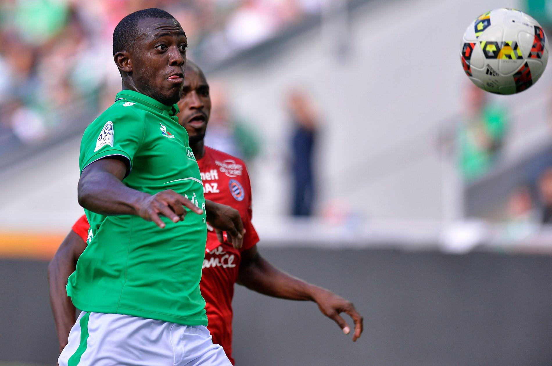 PÅ TOPPNIVÅ: Benjamin Karamoko kommer fra Saint-Étienne, der han fikk noen få A-lagskamper, som denne mot Motnpellier i august 2016.