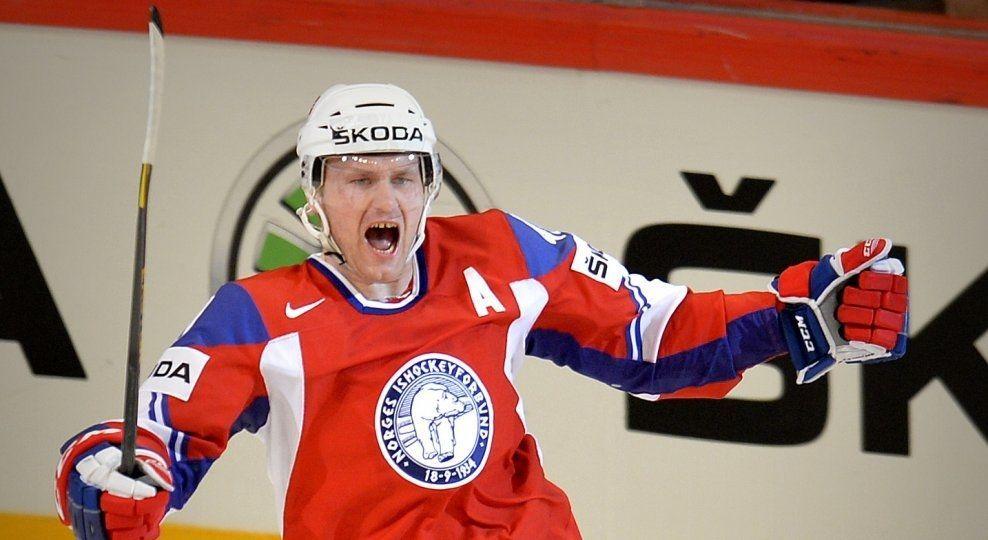 UTE: Patrick Thoresen, her i kamp mot Danmark i VM i fjor, blir ikke med til Hviterussland. Foto: Bjørn S. Delebekk, VG