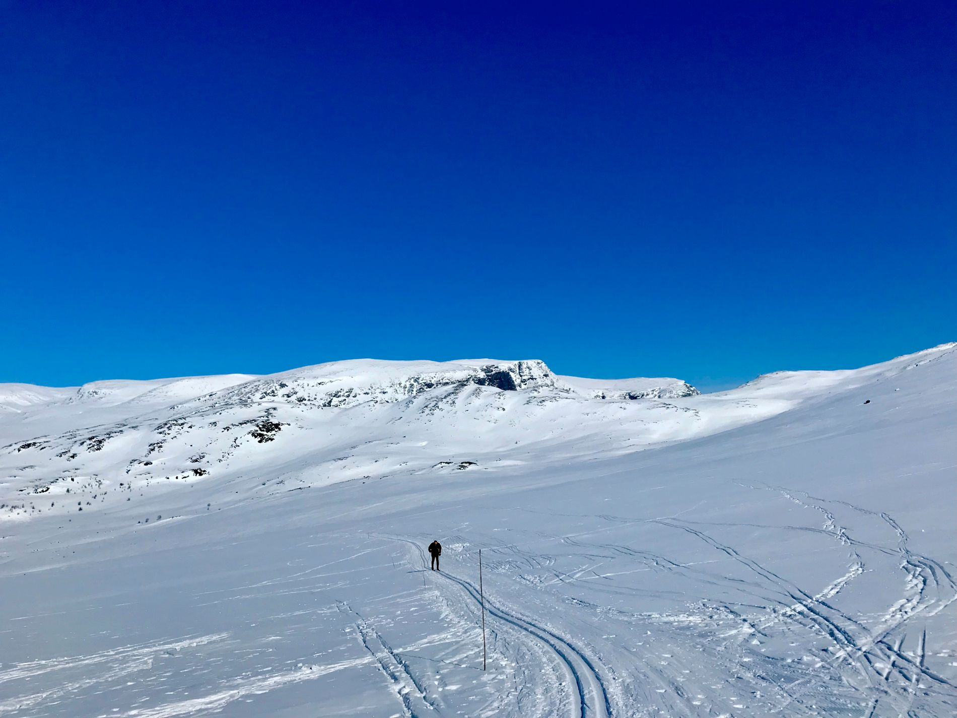 SKIFØRE: Er planen å ta skiene fatt i påsken, anbefaler meteorologene å trekke opp i høyden.