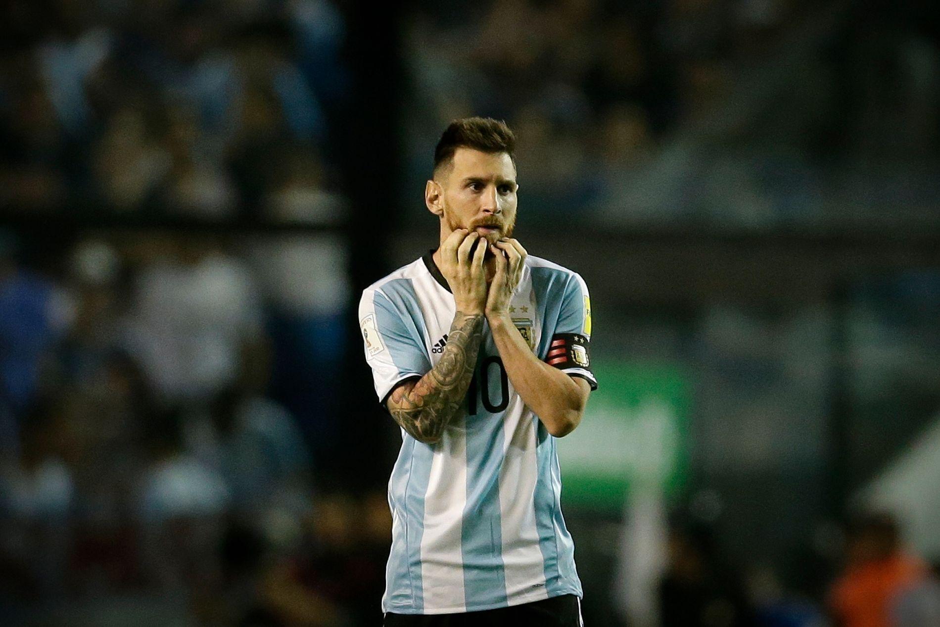 TRUES: Argentinas kaptein og superstjerne, Lionel Messi, har gjentatte ganger blitt brukt i terrorgruppen IS' skremselspropaganda.