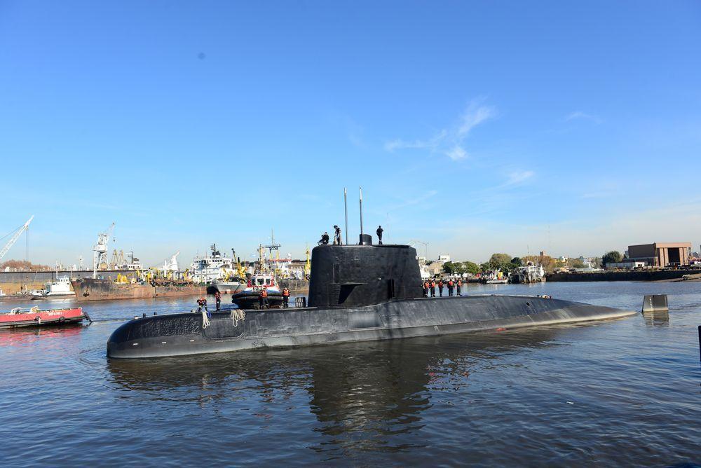 MYSTERIUM: Den argentinske ubåten «ARA San Juan» med et mannskap på 44 personer har vært savnet siden november 2017.