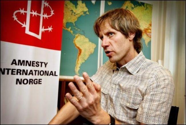GENERALSEKRETÆR: John Peder Egenæs i Amnesty og deltok på møtet i Dublin.
