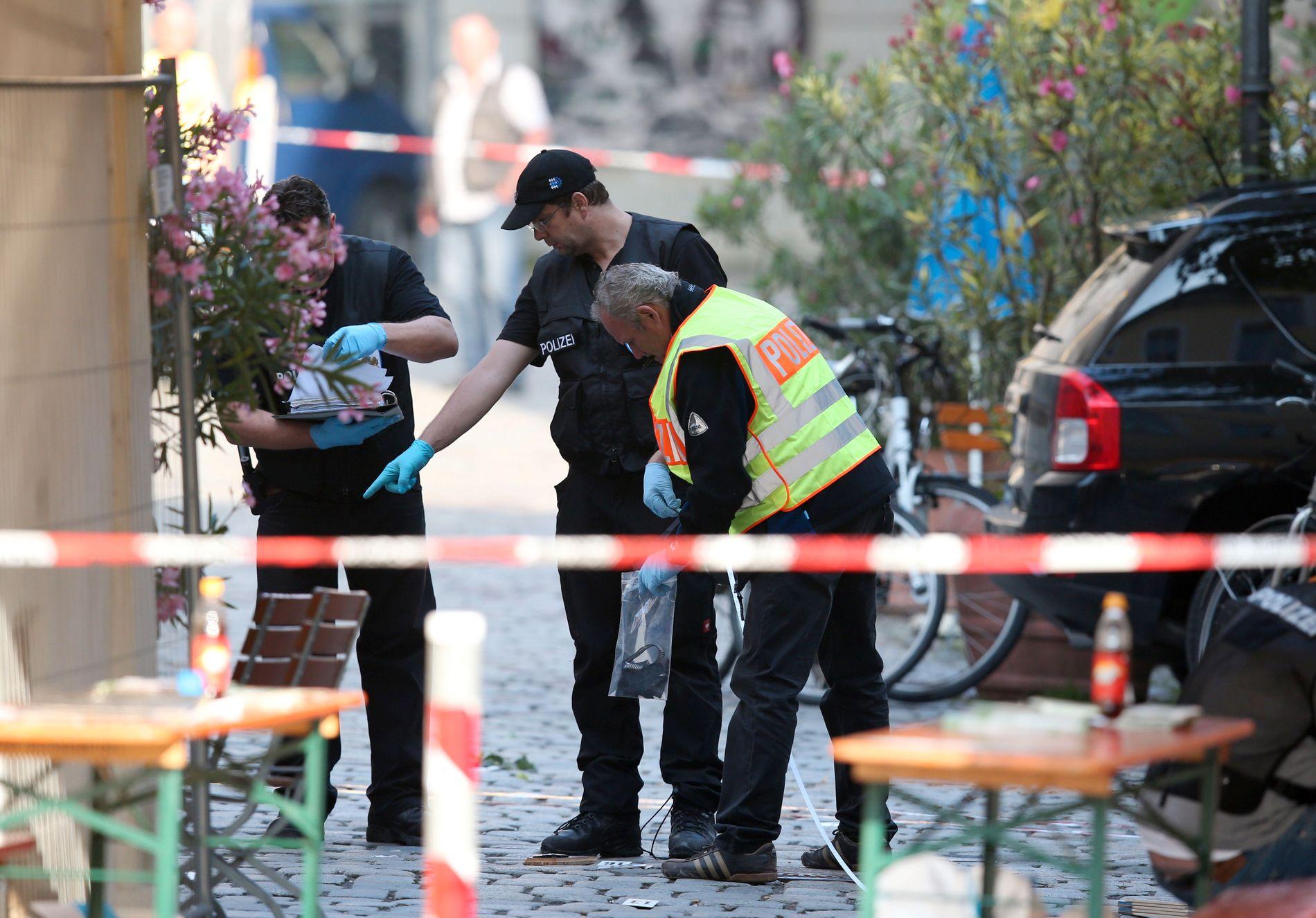 PSYKISK SYK: Gjerningsmannen som sto bak angrepet i Ansbach hadde forsøkt å ta livet sitt to ganger tidligere.
