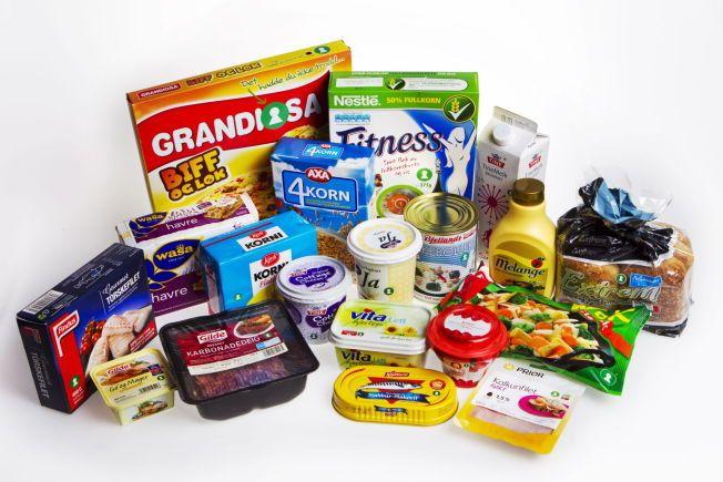 NYE KRAV: De nye nøkkelhull-kravene som innføres 1. mars blir strengere enn tidligere. For å merkes med nøkkelhullet må flere produkter nå inneholde mindre salt, sukker og mettet fett, samt mer fullkorn.