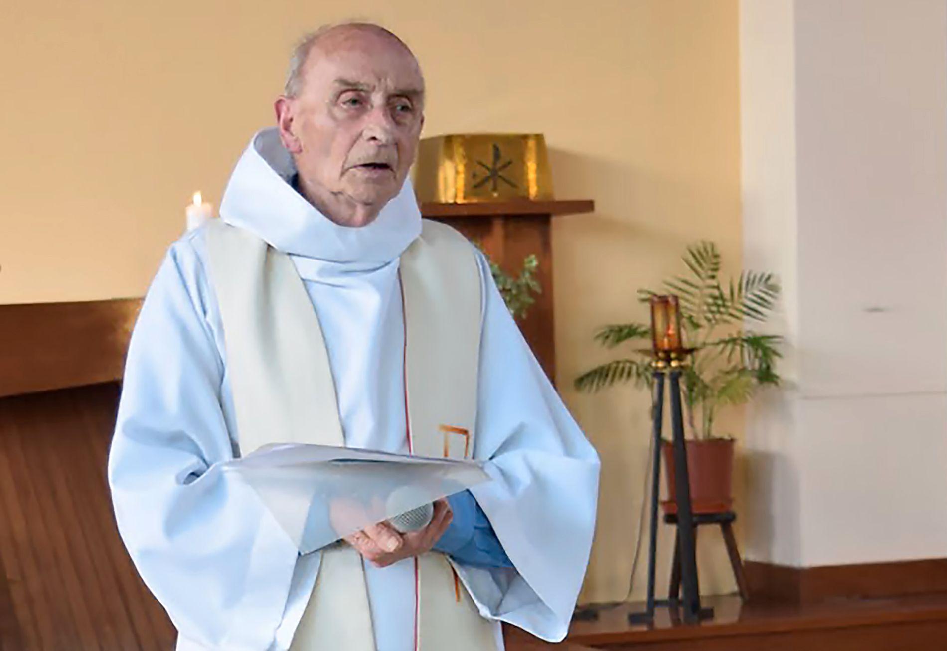 DREPT: Den franske presten Jacques Hamel (85) ble drept i det brutale angrepet tirsdag.