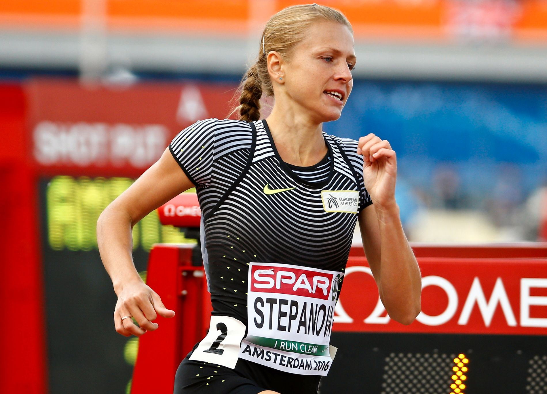 Athletics - European championships - Women's 800m qualifiaction - Amsterdam - 6/7/16 Yulia Stepanova of Russia competes. REUTERS/Michael Kooren/File Photo
