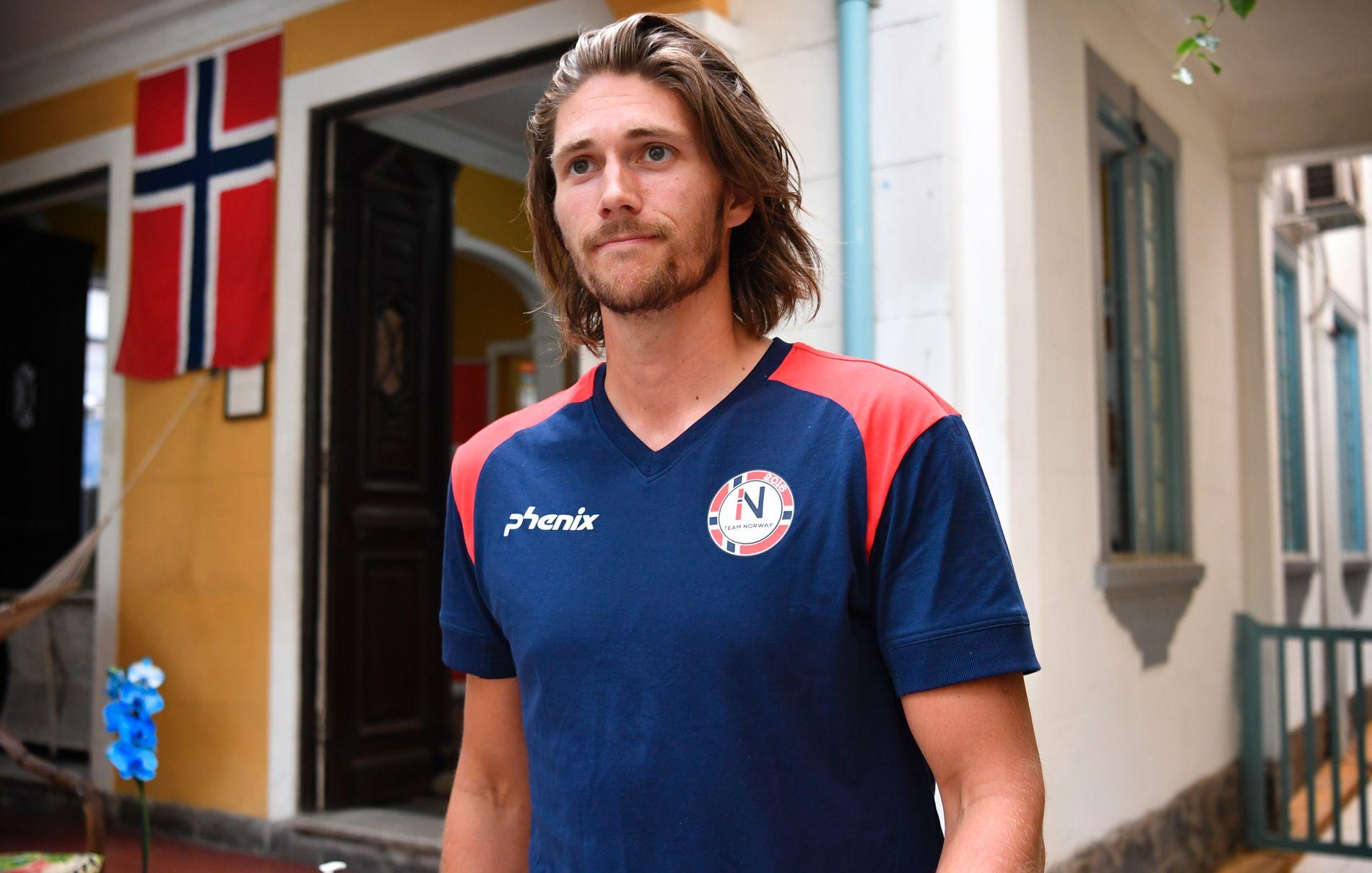 OL-ROER: Nils Jakob Hoff var med i singlesculler i Rio-OL for ett år siden. Nå skal han være med i dobbeltfirer i VM i Florida.