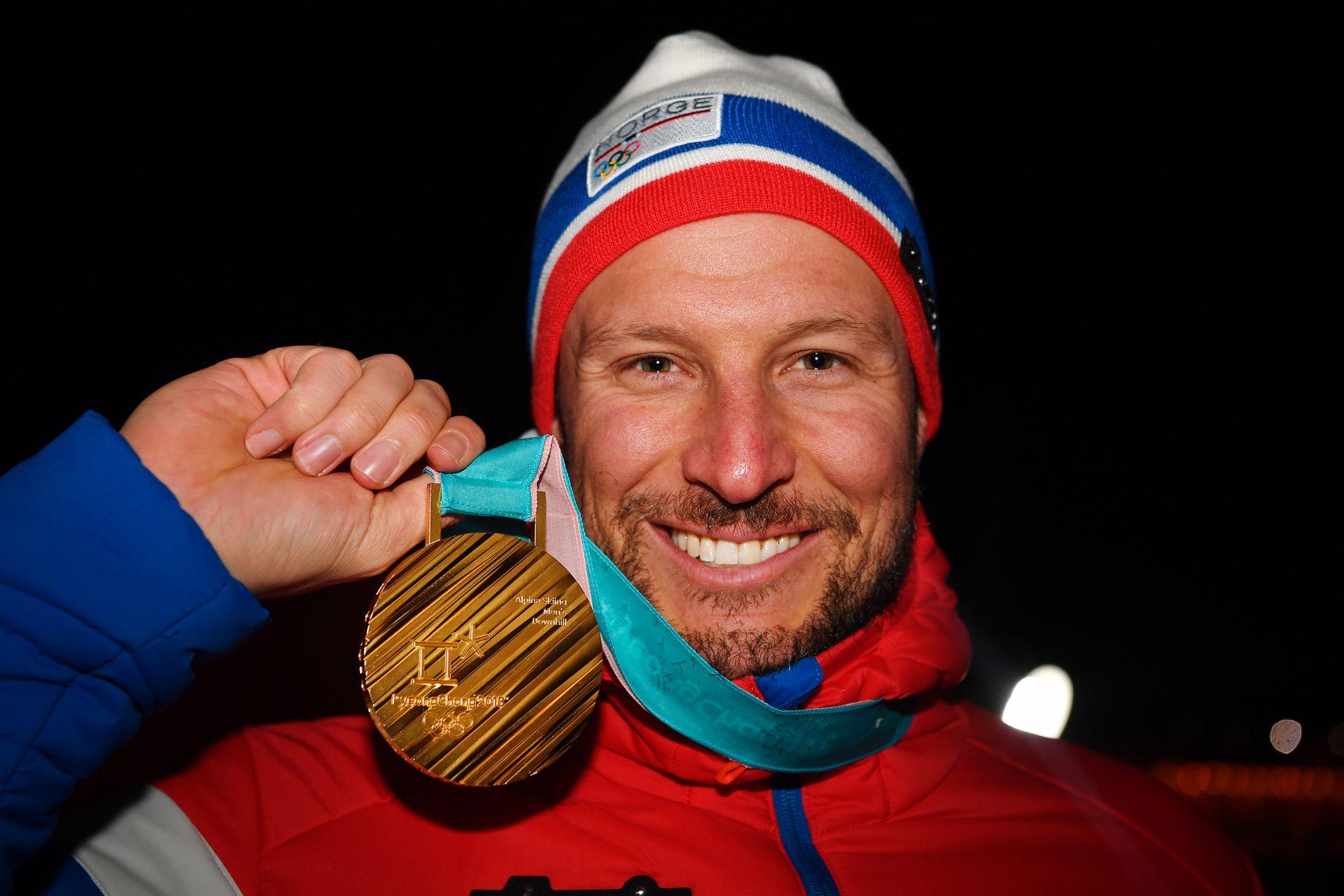 FORTSETTER: Aksel Lund Svindal fortsetter på alpin-landslaget også neste sesong.