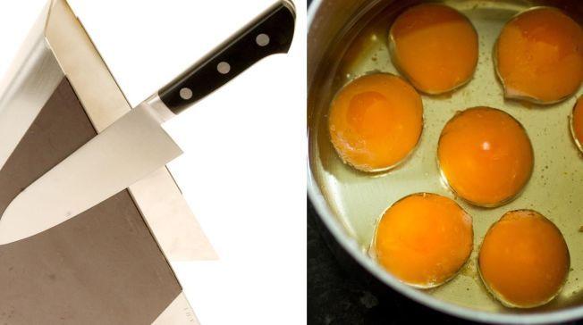 EGGENDE SPRÅKDEBATT: Om det heter å være klar som et egg (som eggehviten i egget eller klar for å klekkes) eller klar som en egg (etter knivsegg) har egget opp to av Norges mest profilerte språkkjennere.