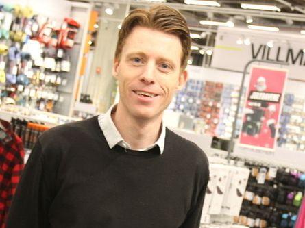 Administrerende direktør i XXL, Tolle Grøterud.