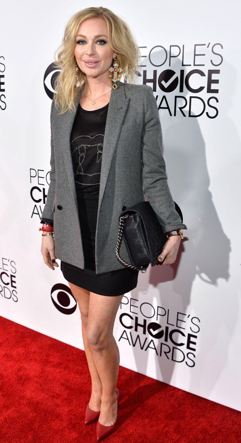 JETSET: Isabel Adrian på People's Choice Awards i 2014.