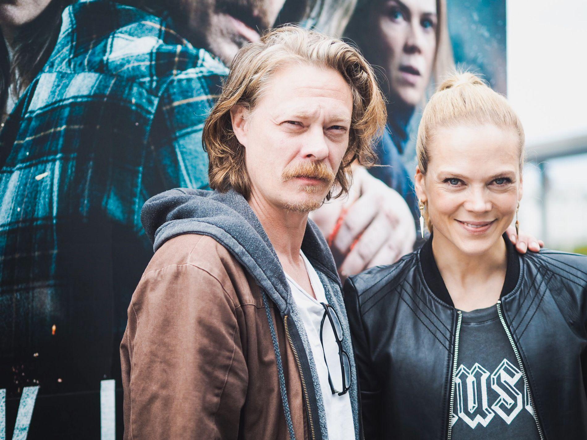 KATASTROFEKLARE: Kristoffer Joner og Ane Dahl Torp spiller hovedrollene i «Skjelvet».
