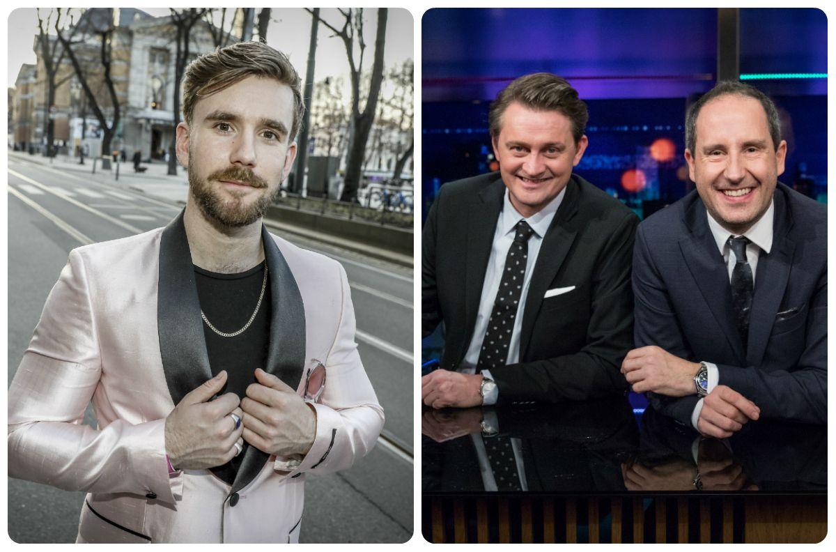 TV 2-FAVORITTER: «Senkveld med Thomas og Harald», med Thomas Numme og Harald Rønneberg (t.h.), er snart slutt. Stian Blipp (t.v.) skal etter planen ta over.