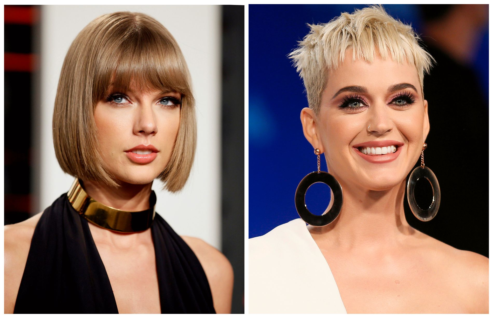 VENNER IGJEN?: Etter en seks år lang krangel har Katy Perry skrevet brev til Taylor Swift.