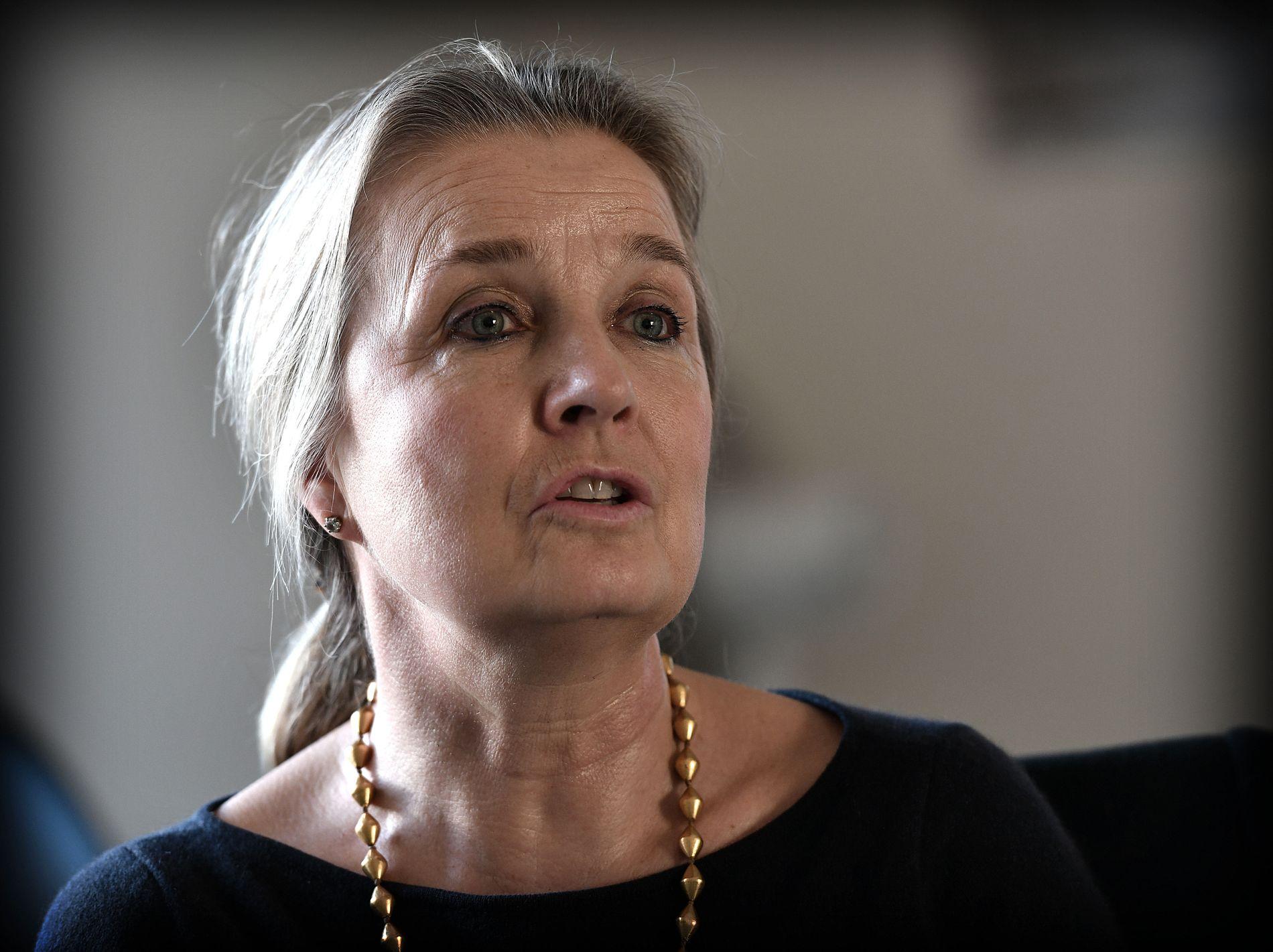 FORSØKER Å HJELPE: Elizabeth Hoff fra Ålesund er den lengstværende internasjonale hjelpearbeideren i Syria. Hun har siden 2012 ledet WHOs arbeid i Syria. VG møtte henne i Damaskus i januar.