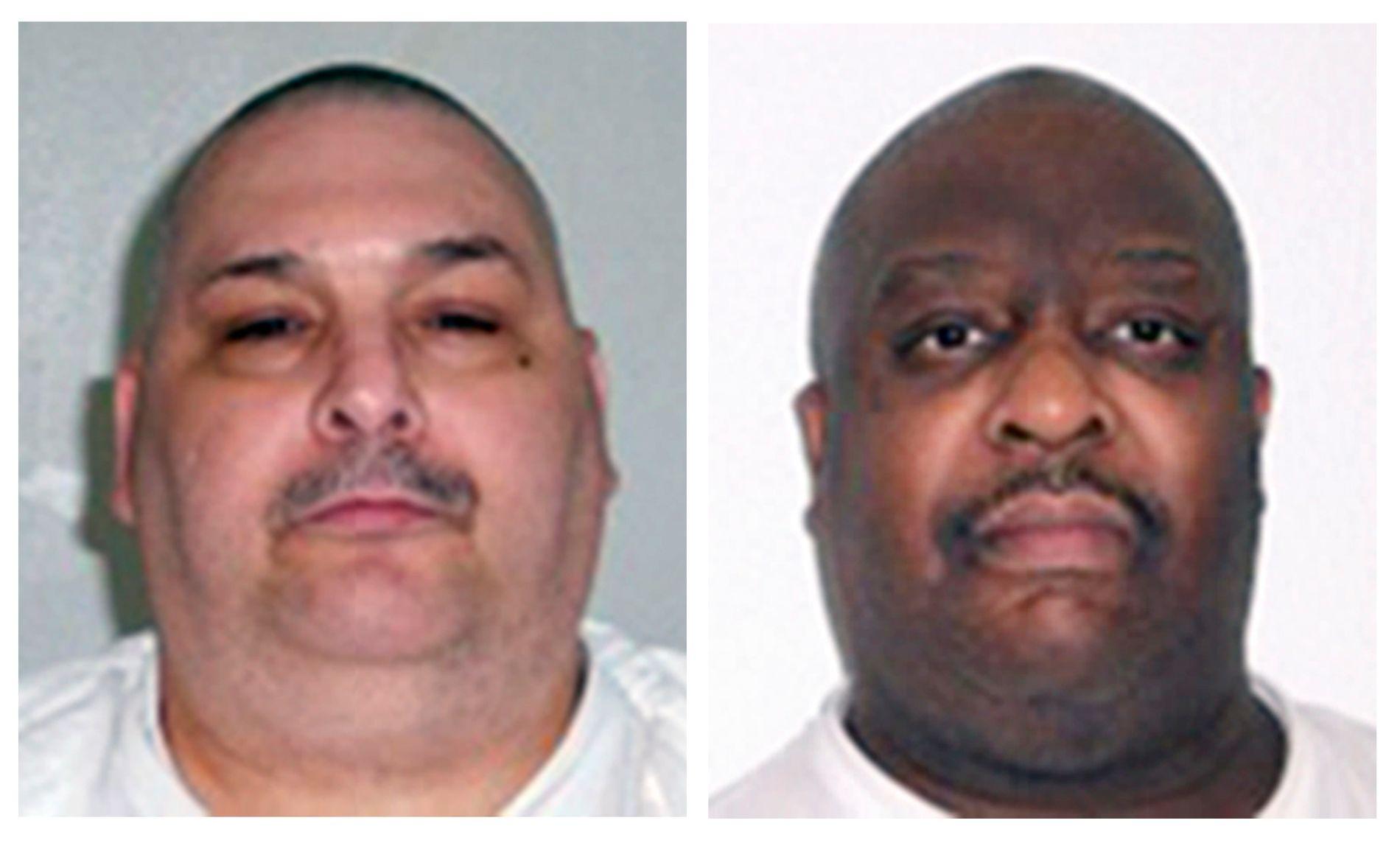 DØDSDØMT: Jack Jones (t.v.) og Marcel Williams er begge dømt til døden for voldtekt og drap.
