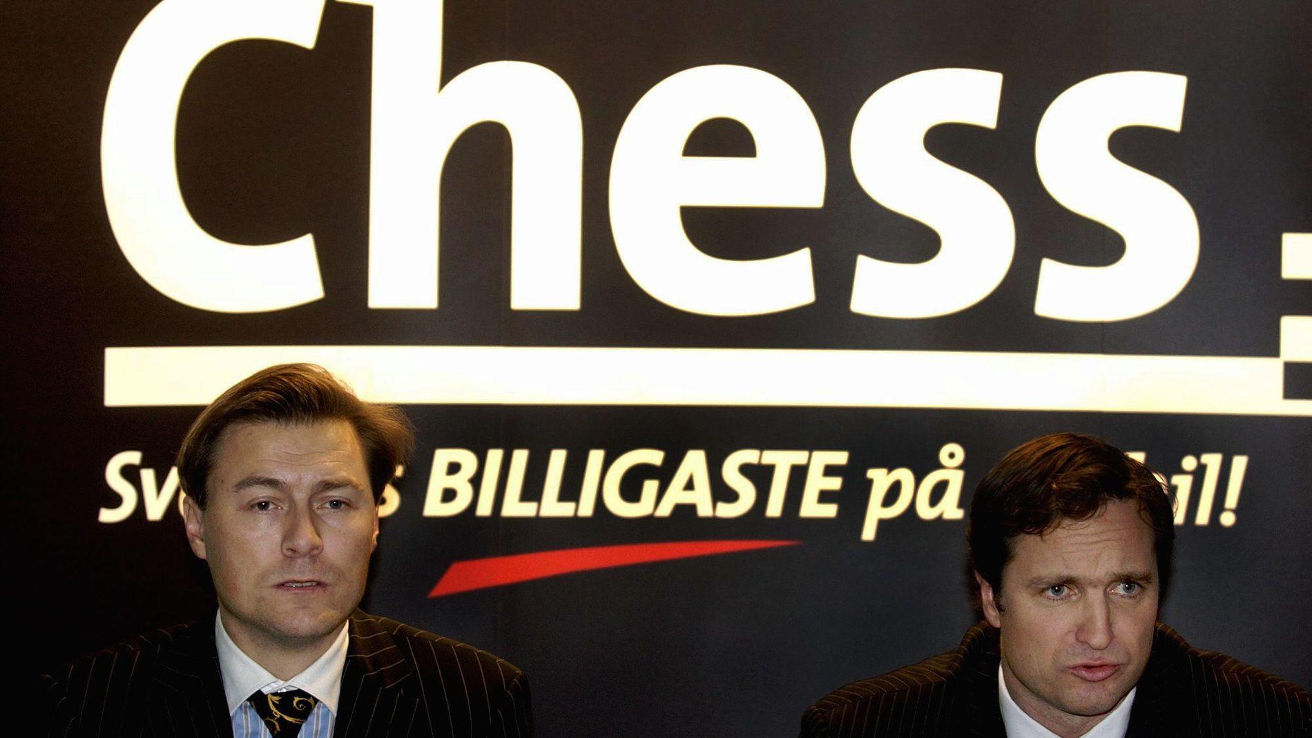 CHESS LEGGES NED: Idar Vollvik startet i sin tid Chess-eventyret, nå legger Telia ned selskapet.
