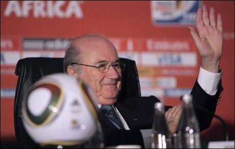 ENDRINGER: FIFA-president Sepp Blatter vurderer å droppe ekstraomganger. Foto: AP