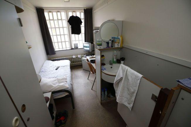 8 KVM: På slike celler skal norske fanger sone. De nederlandske fangene som gikk til sak for å hindre flytting, har blant annet egne kyllinger og muligheten til å lage maten selv.