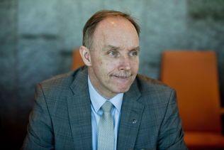 VÆRE FOR SEG SELV: Høyre-ordfører Sture Pedersen i Bø i Vesterålen.